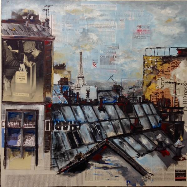 Les villes, série 2015, Renée Oconel, cliquez sur l'image !