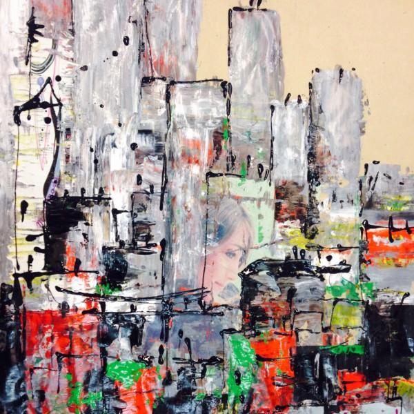 Les villes, Andrée Oconel, cliquez sur l'image !