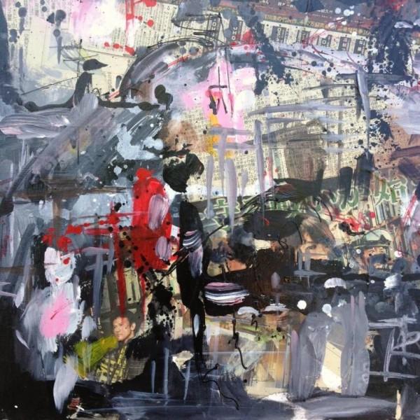 Japon, série des villes 2014, Renée Oconel