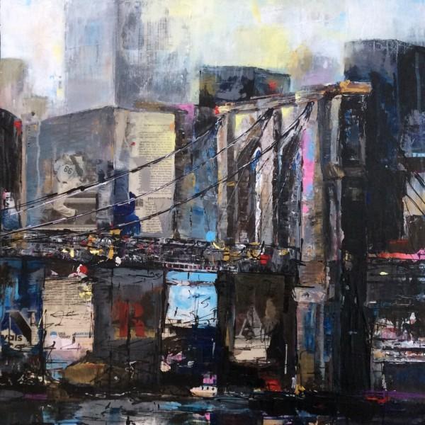 New York….série les villes 2015, Renée Oconel