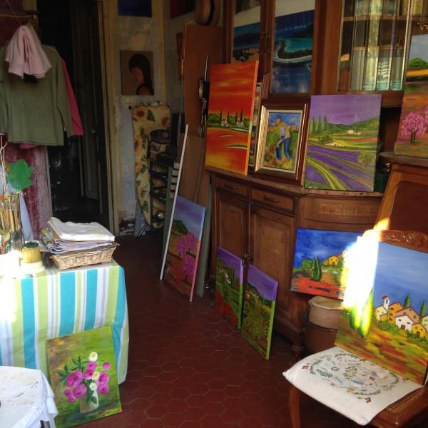 L'atelier d'Andrée : artiste