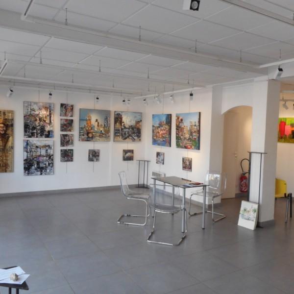 Exposition à la Londe, galerie Horace Vernet, en novembre 2015