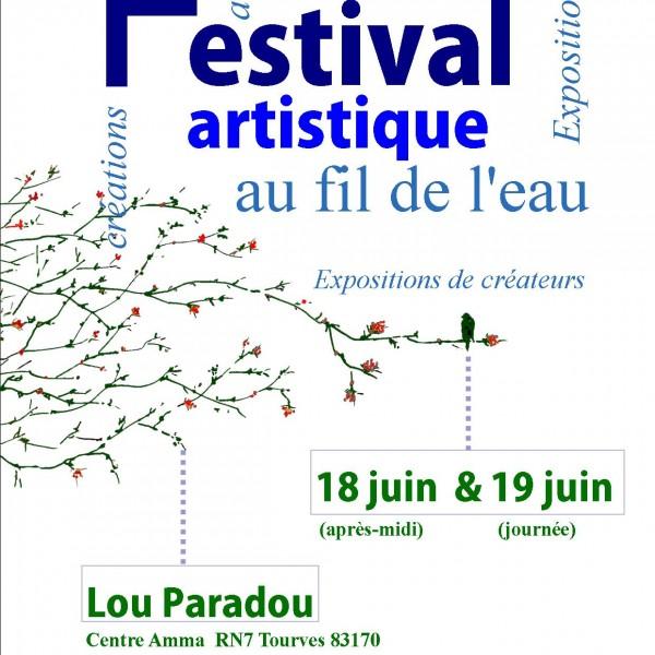 Festival créatif au fil de l'eau 18 et 19 juin, cliquez sur l'image !