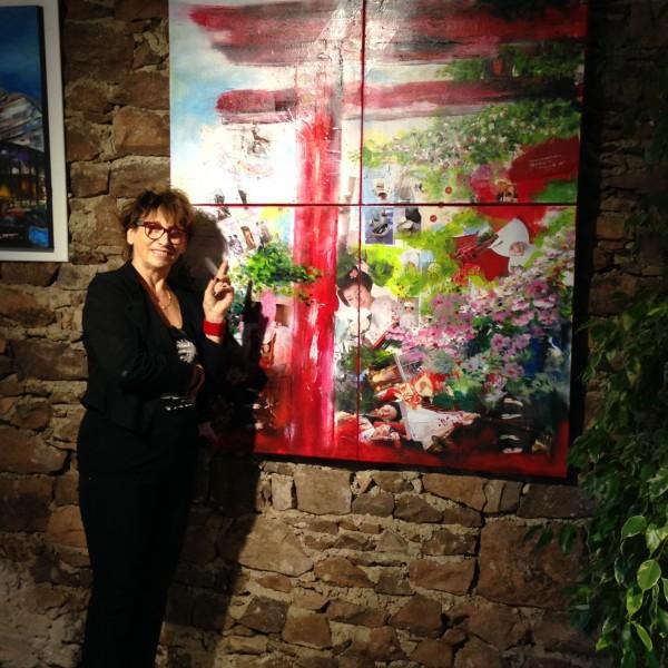 Exposition Renée au Cannet des Maures vernissage le 4 oct