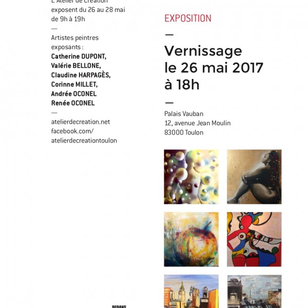 Nouvelle exposition SMAC à Toulon