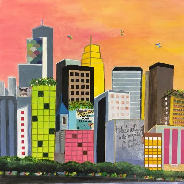 Les villes D'Andrée Oconel, cliquez sur l'image !