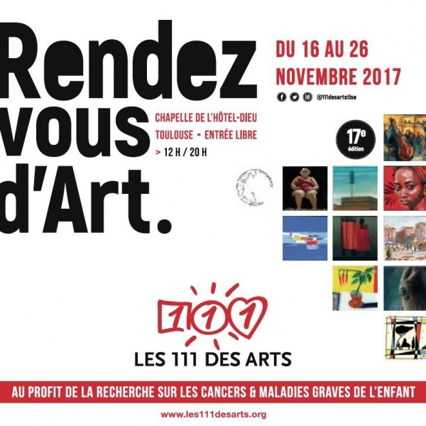 Les 111 des arts Toulouse