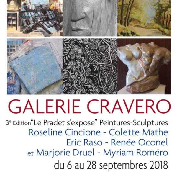 Exposition Renée Galerie Cravéro Le Pradet 6 au 28 septembre 2018, cliquez sur l'image !