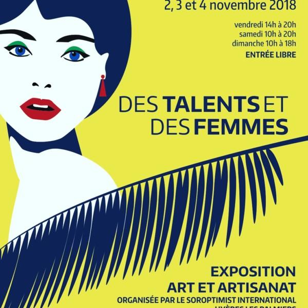 Exposition à Hyères novembre, cliquez sur l'image !