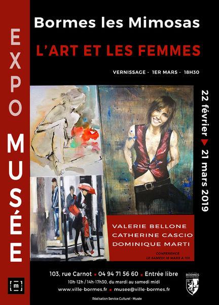 Valérie Bellone exposition à Bormes