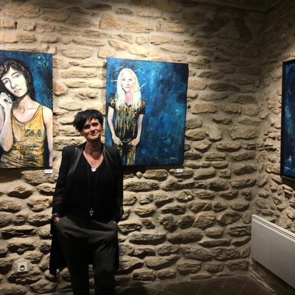 Valérie Bellone exposition à Bormes, cliquez sur l'image !